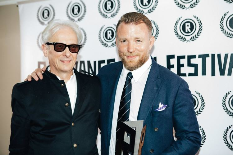 Raindance FF Elliot Grove and Guy Ritchie-min