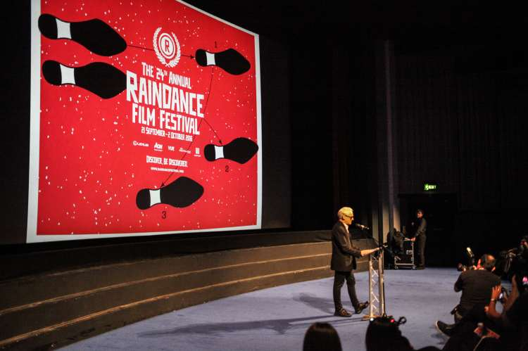 Raindance Film Festival Podium-min