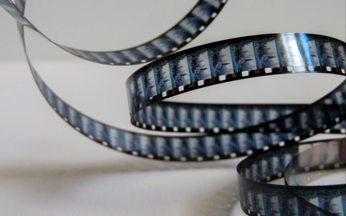 film strip film publicity