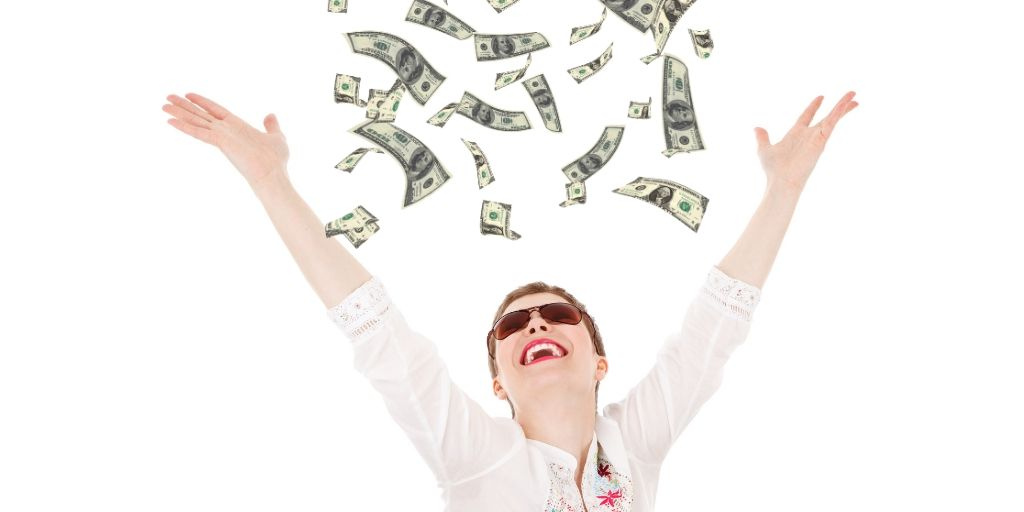 shower of money